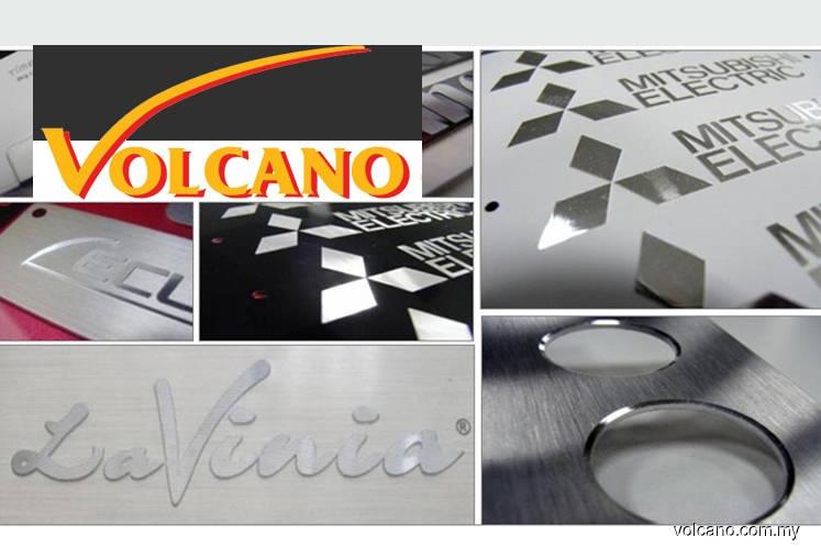 Nameplate maker Volcano seeks ACE Market listing