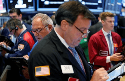 Wall St lower as Fed uncertainty weighs on bank stocks