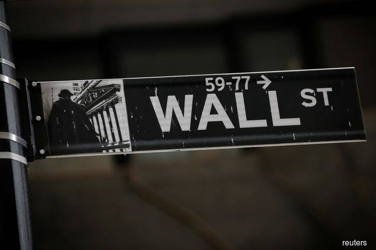 Snapshot: Wall St pares gains as report says Trump to declare national emergency