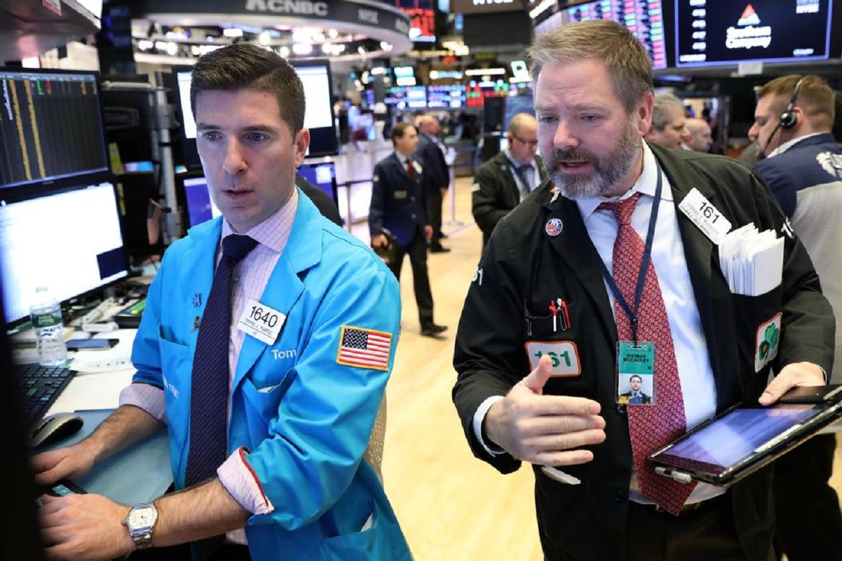 Wall Street drops on fears over new coronavirus strain