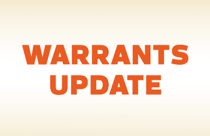 Warrants Update: As PRG Holdings rallies, PRG-WA catches up