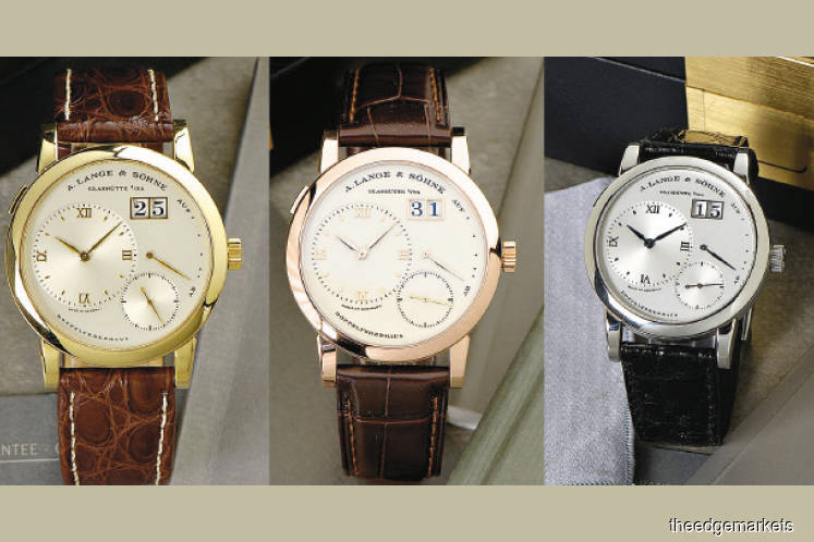 Three of the best Lange 1 watches ever made up for sale