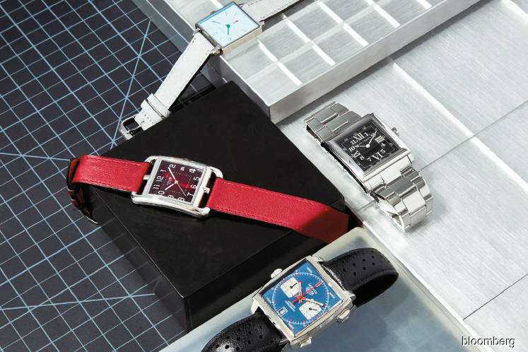WATCHES: Square watches are taking wrists by storm