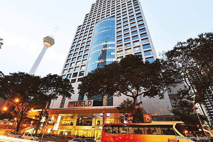 Menara Weld and The Weld Shopping Centre up for sale