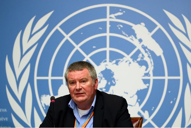 WHO emergencies head Dr Mike Ryan (Photo by Reuters)