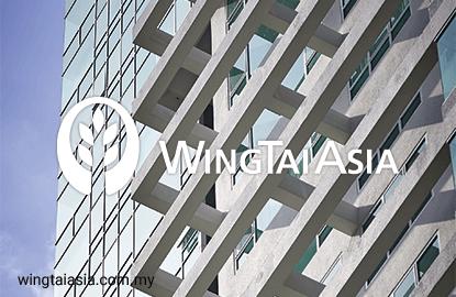 Wing Tai's 1Q net profit plunges 92%, pays 3 sen dividend