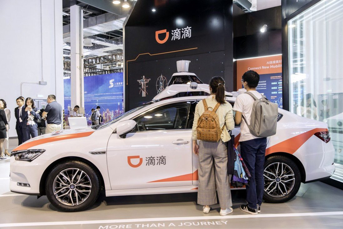 Didi Global denies media report it plans to go private after US$4.4 bil New York IPO. (Photo by Bloomberg)