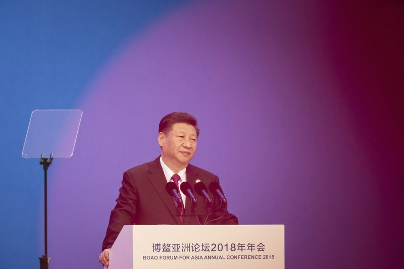 China's Xi looks to strengthen Italian ties, evokes ancient trade routes
