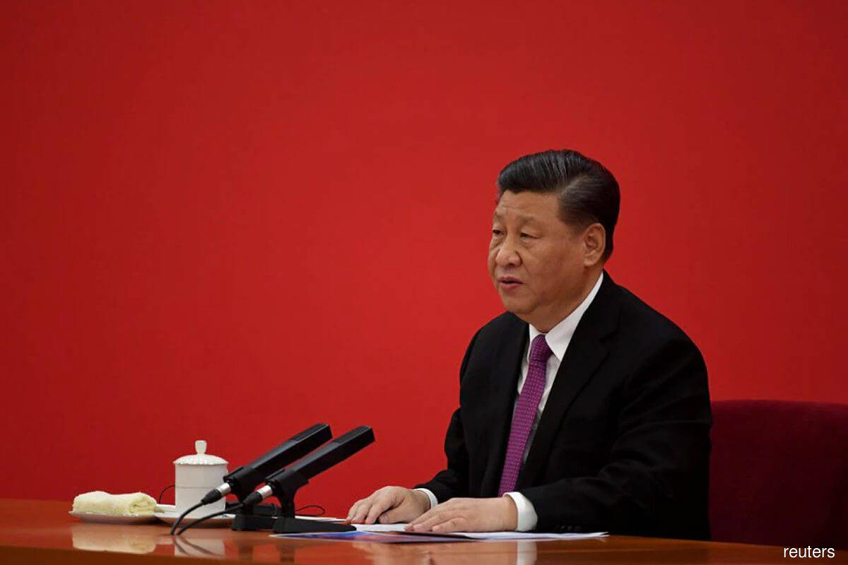 Xi seeks 'common prosperity' while curbing China financial risks.