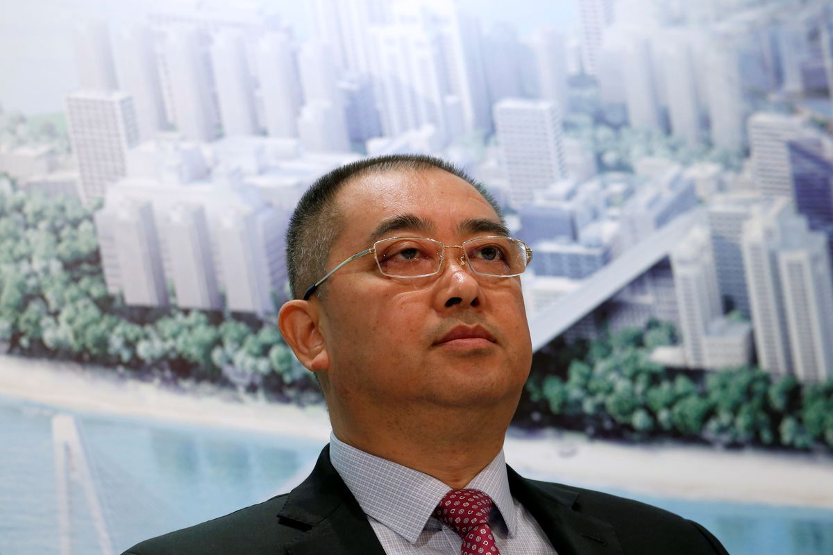 Evergrande CEO in Hong Kong for restructuring, asset sale talks, sources say