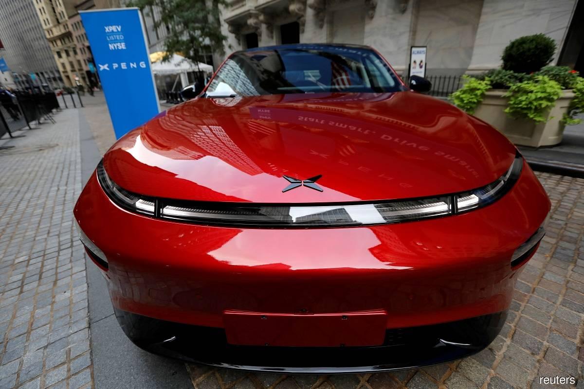 Chinese EV maker Xpeng's 4Q net loss narrows 42%