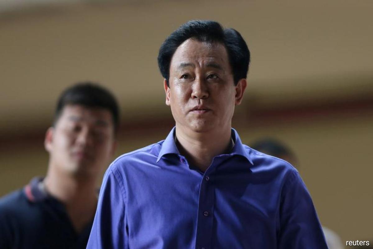Xu Jiayin, chairman of embattled Chinese real estate giant Evergrande Group.