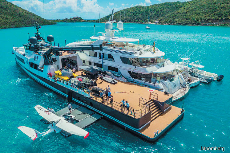 A US$50m boat for toys you cannot fit on your yacht