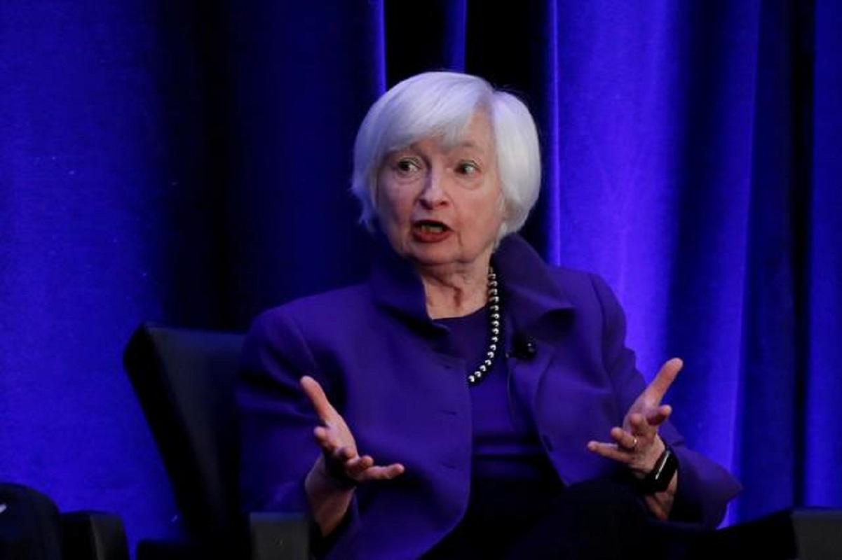 Yellen talks digital taxes with UK, Germany finance chiefs