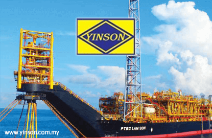 Yinson's 4Q net profit drops 53% on absence of disposal gain