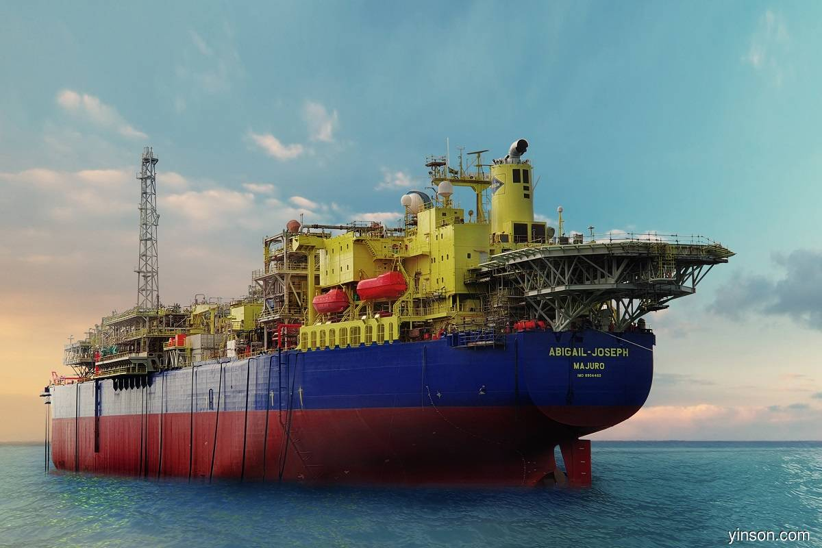 Yinson's FPSO Abigail-Joseph achieves first oil