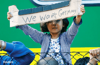 Hard for Germany to lead on the migrant crisis — or anything else