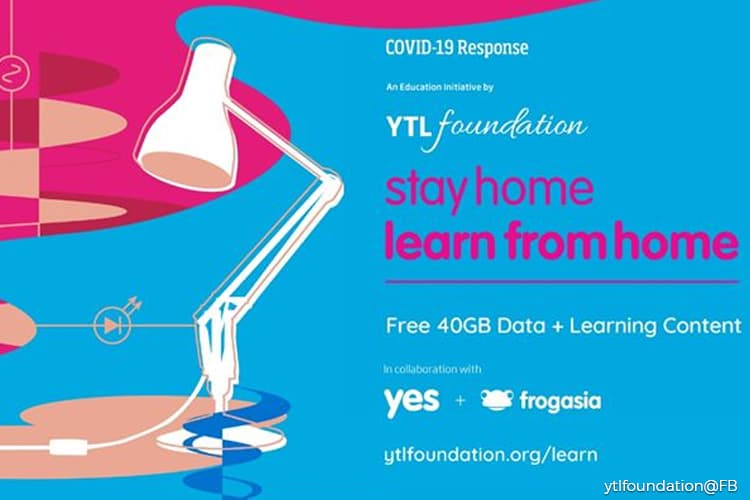 YTL Foundation to give away free mobile phones to B40 students under Learn from Home Initiative