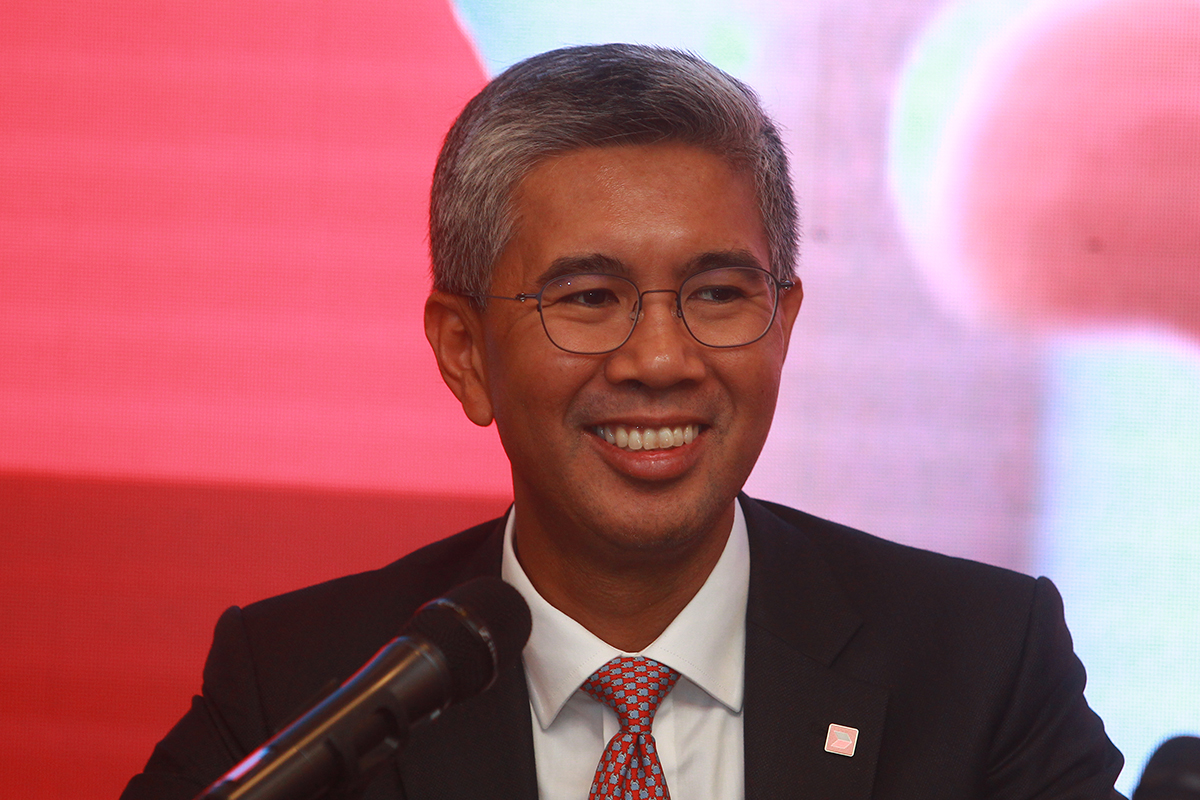 Tengku Zafrul: The sales tax incentive includes 100%exemption for locally assembled cars and a 50%reduction for fully imported models. (Photo by The Edge)