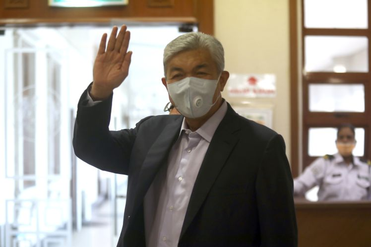Ahmad Zahid's trial: Some money was paid to gangsters for protection