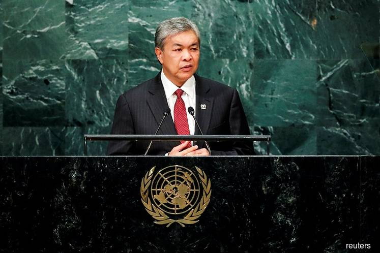 DPM Zahid denies cops are seeking Interpol help to locate Jho Low