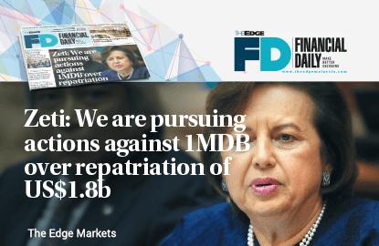 Zeti: We are pursuing actions against 1MDB