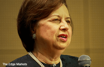 Malaysian govt bond redemption by foreign investors not a concern, says Zeti