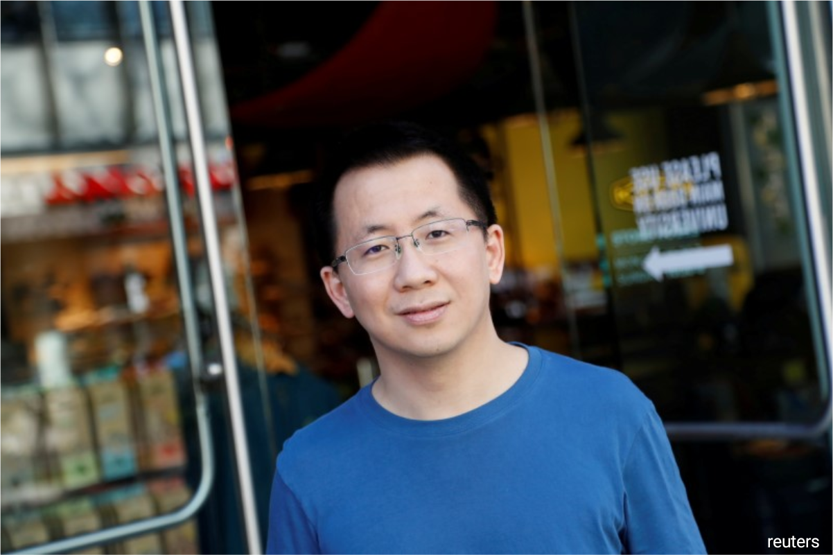 ByteDance founder Zhang Yiming (photo), battery makerChairman Zeng Yuqun, Tencent HoldingsPony Ma, and Jack Ma, founder of Alibaba Groupand Ant Group, rounded out the top five.